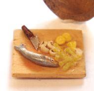 1:24th Scale Prep Fish Board
