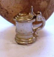 1:24th Scale Silver Lidded Tankard