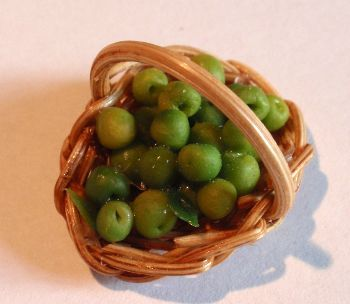 Basket of Greengages