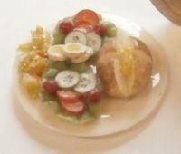 Jacket Potato and Salad Plate