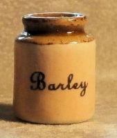 Stoneware Storage Jar - Barley