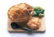Pot Pie on a Board