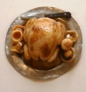 Roast Chicken with Mushrooms