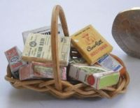Basket of Wartime Packets