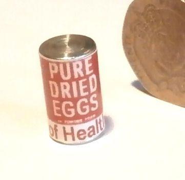 Tin Dried Egg