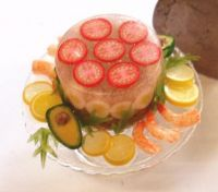 Vegetable Aspic Terrine
