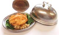 Roast Chicken Dinner on a Platter