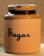 Stoneware Storage Jar - Sugar