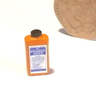 Bottle of Concentrated Orange Juice