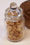 Display Jar of Nuts
