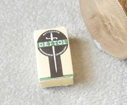 Box of Dettol Disfinfectant