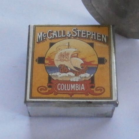 Tin of McCall & Stephen Biscuits
